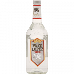 Pepe Lopez tequila silver...